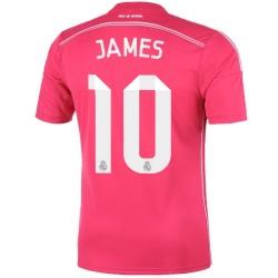Real Madrid CF segunda camiseta 2014/15 James 10 - Adidas