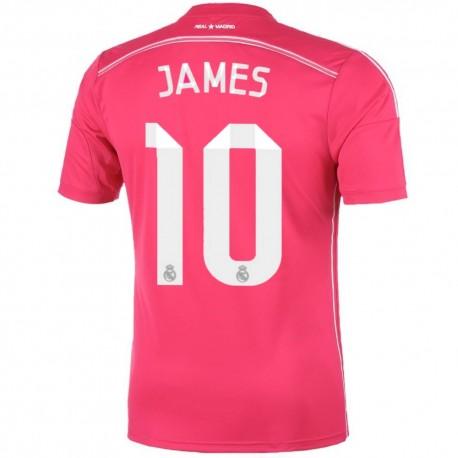 e661bf6bc11ae Real Madrid CF segunda camiseta 2014 15 James 10 - Adidas ...