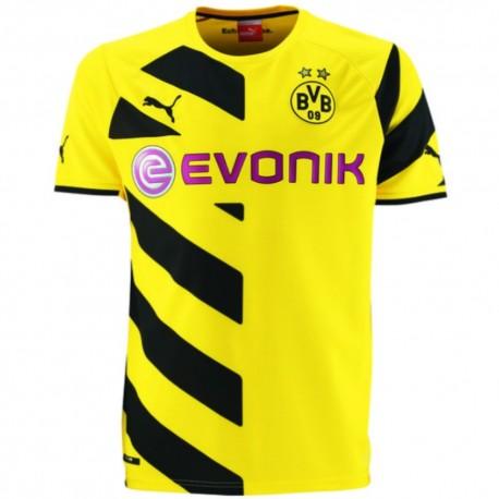 BVB Borussia Dortmund Training Sweat Top 2014/15 gelb - Puma