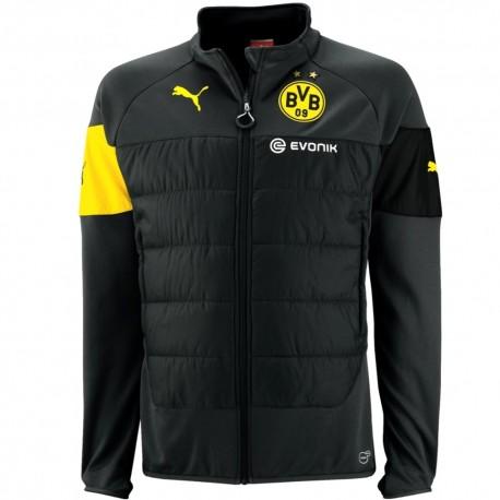 Sudadera tecnica entrenamiento BVB Borussia Dortmund 2014/15 negro - Puma