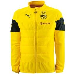 Sudadera tecnica entrenamiento BVB Borussia Dortmund 2014/15 amarillo - Puma