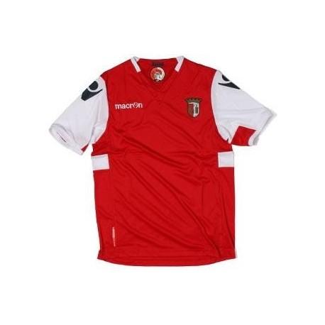 Camiseta de fútbol Sporting Braga 2011/12 Inicio de Macron