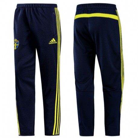 Pantaloni allenamento nazionale Svezia 2014 - Adidas