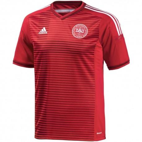 Denmark National team Home football shirt 2014/15 - Adidas