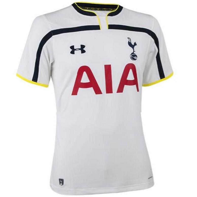 Camiseta de futbol Tottenham Hotspur primera 2014 15 - Under Armour ... 659a9242617cc
