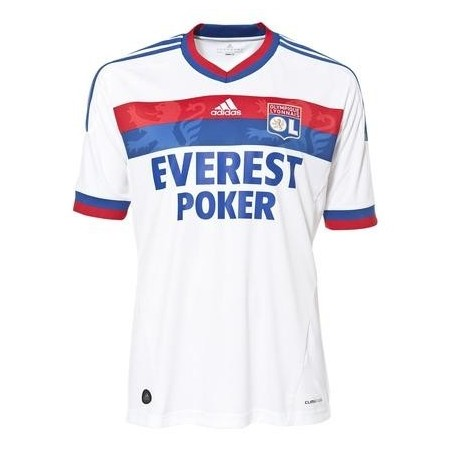Soccer Jersey 2011/12 Olympique Lyon Home by Adidas