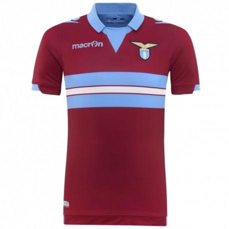 SS Lazio camiseta de futbol segunda 2014 15 - Macron - SportingPlus ... 77973b6bbce0e
