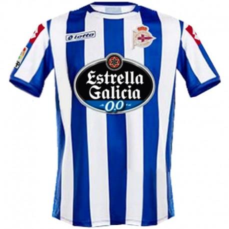 Deportivo La Coruna Home football shirt 2014/15 - Lotto