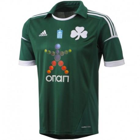 Panathinaikos Home soccer jersey 2012/13 - Adidas