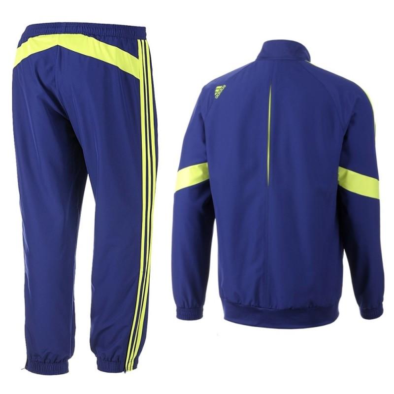 FC Chelsea UCL Präsentation Trainingsanzug 201415 Adidas SportingPlus Passion for Sport