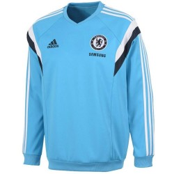 FC Chelsea sky blue training sweat top 2014/15 - Adidas