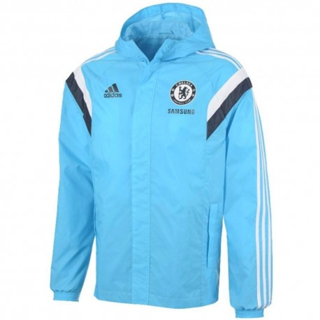 FC Chelsea sky blue training rain jacket 2014/15 - Adidas