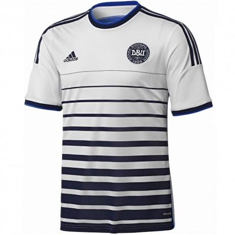 best website 7e770 7d0bc Denmark National team Away football shirt 2014/15 - Adidas ...