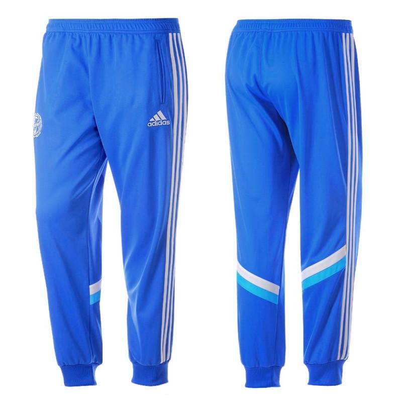 Pantalons entrainement Olympique Marseille 201415 Adidas