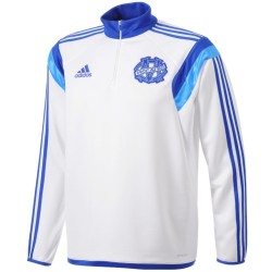Sweat top technique entrainement Olympique Marseille 2014/15 - Adidas
