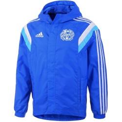 Coupe de vent entrainement Olympique Marseille 2014/15 - Adidas