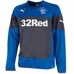 Sudadera de entrenamiento Glasgow Rangers 2014/15 azul/navy - Puma
