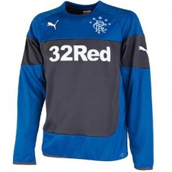 Sweat top entrainement Glasgow Rangers 2014/15 bleu/navy - Puma