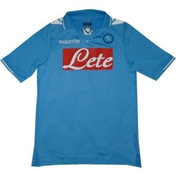 Naples Soccer Jersey 2011/12 Home by Macron