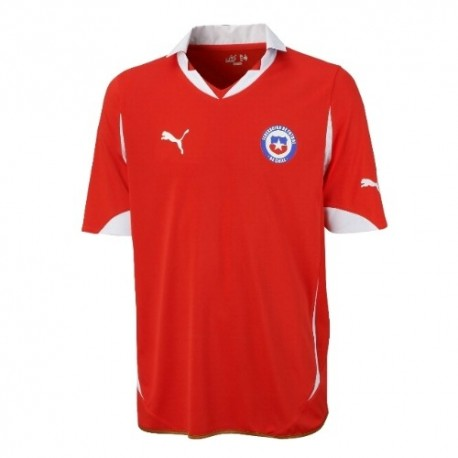 Chile National Soccer Jersey Home 2011/12-Puma