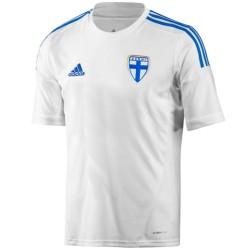 Finland national team Home football shirt 2013/14 - Adidas
