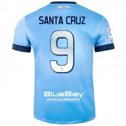 Malaga CF primera camiseta de futbol 2013/14 Santa Cruz 9 - Nike