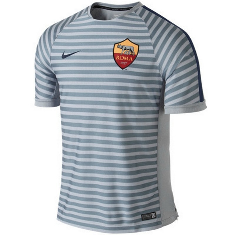 huge selection of b0b59 6d050 AS Roma UCL training shirt 2014 15 - Nike ...