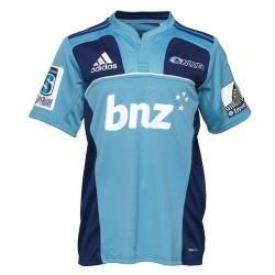 Auckland Blues Rugby Trikot Home 2011/12 von Adidas