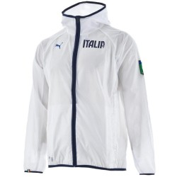 Italy national team Training rain jacket 2014/15 white - Puma