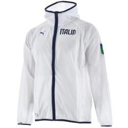Seleccion de Italia chubasquero entrenamiento 2014/15 blanco - Puma