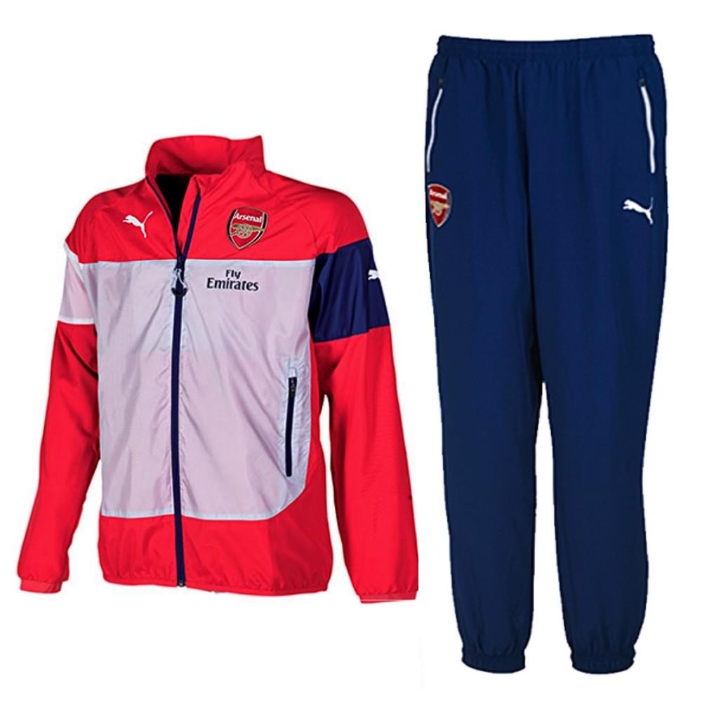 Survetement de presentation Arsenal 2014/