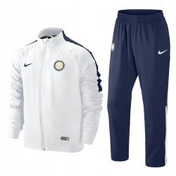 Inter Mailand White Präsentation Trainingsanzug 2014/15 - Nike