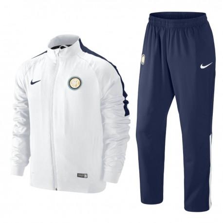FC Inter white presentation tracksuit 2014/15 - Nike