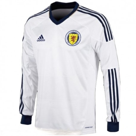 Scotland National team Away longsleeve shirt 2012/14 Player Issue - Adidas