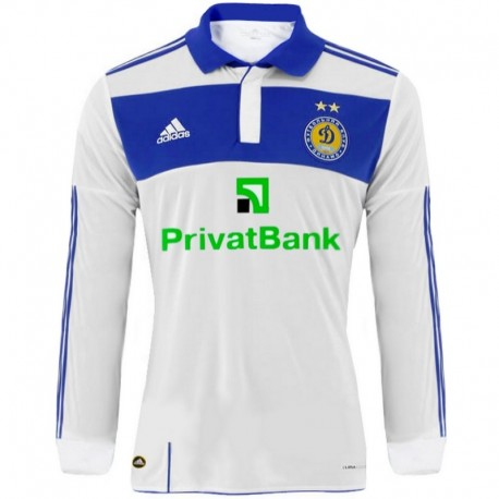 Dynamo Kiev longsleeve Home shirt 2010/11 Player Issue - Adidas
