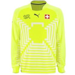 Maillot de foot gardien nationale Suisse 2014/15 - Puma