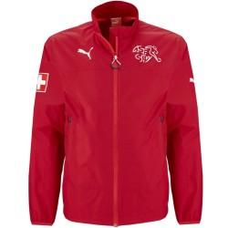 Chubasquero de entrenamiento seleccion Suiza 2014/15 - Puma