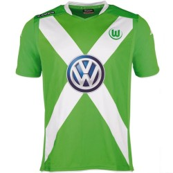 Maillot de foot VFL Wolfsburg domicile 2014/15 - Kappa
