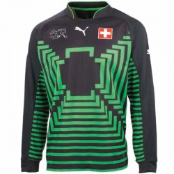 Camiseta de portero seleccion Suiza Away 2014/15 - Puma