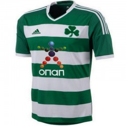 Panathinaikos Athens Home Football shirt 2013/14 - Adidas