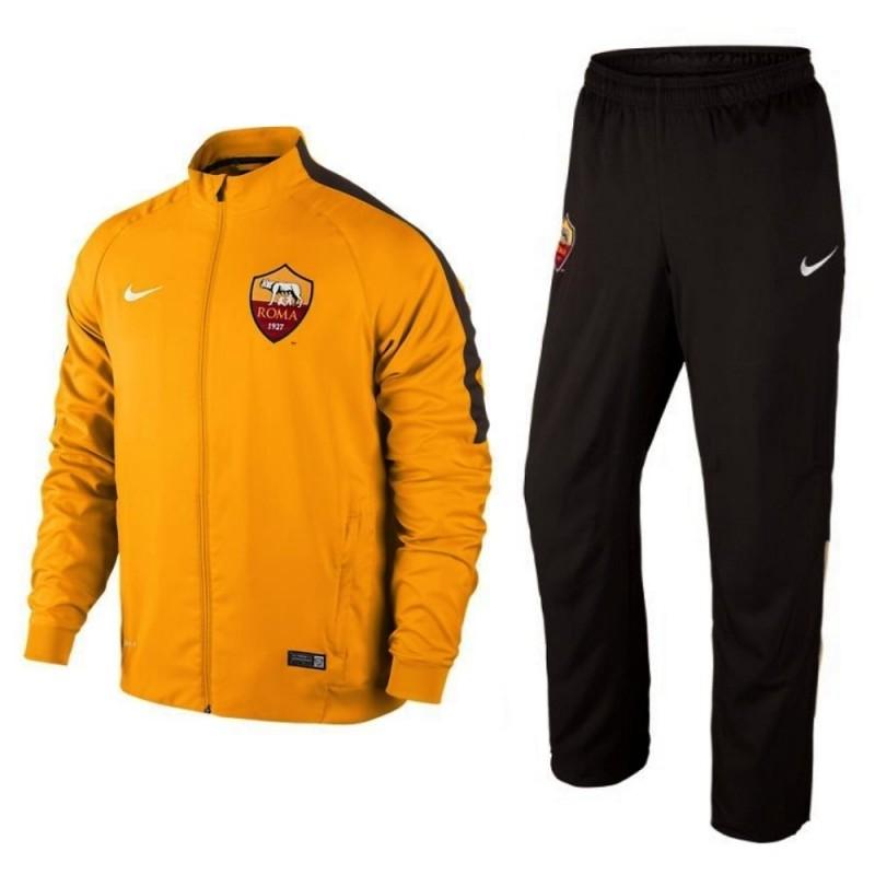Survetement de presentation AS Roma 201415 orange Nike SportingPlus Passion for Sport