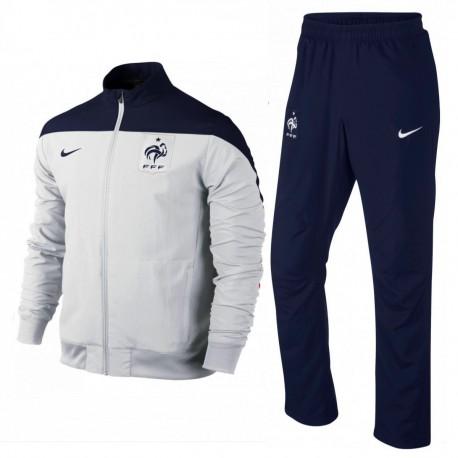 Frankreich Fussball Team Präsentation Trainingsanzug 2014/15 - Nike