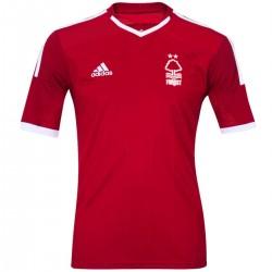 Nottingham Forest FC Home Fußball Trikot 2014/15 - Adidas