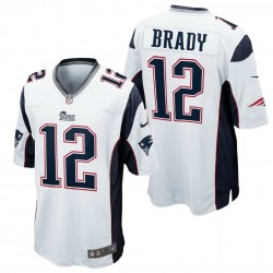 Maglia Football Americano New England Patriots Away - 12 Brady Nike