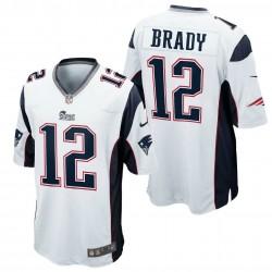 New England Patriots Maillot  Away - 12 Brady Nike
