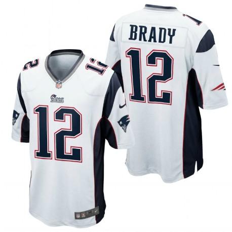 519db023 New England Patriots Jersey Away - 12 Brady Nike - SportingPlus ...