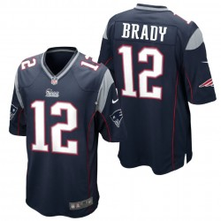 Maglia Football Americano New England Patriots Home - 12 Brady Nike