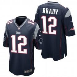New England Patriots Shirt  Home - 12 Brady Nike