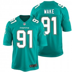 Maglia Football Americano Miami Dolphins Home - 91 Wake Nike