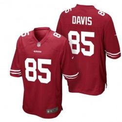 San Francisco 49ers Maillot  Domicile - 85 Davis Nike